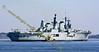 Ark Royal - Departs Faslane Naval Base