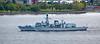 'HMS Sutherland' (F81) off Langbank - 26 May 2015