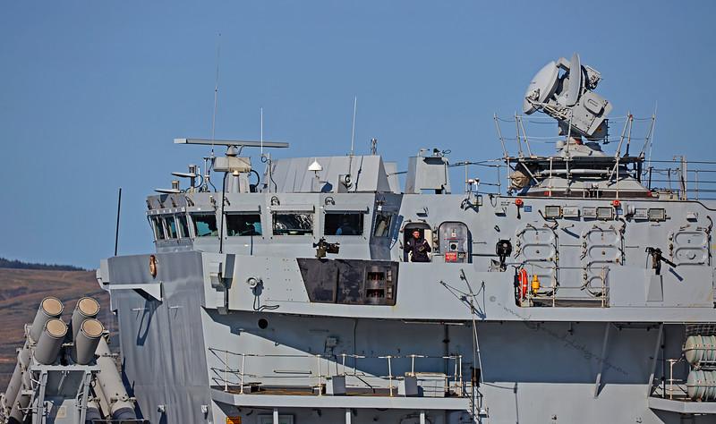 'HMS Somerset' (F82) off Greenock - 6 September 2015