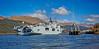 HMS Ocean berthing at Glen Mallan - 25 April 20155