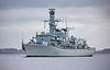 HMS Lancaster (F229) at Gareloch - 5 November 2020