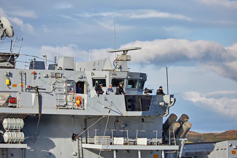 'HMS Somerset' (F82) off Port Glasgow - 3 September 2015