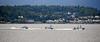 Rnmb Hebe with Harrier and Hazard off Gourock - 3 June 2021