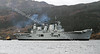 HMS Ark Royal Making Her Way Up Loch Long