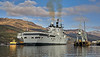 HMS Illustrious (R06) Off Glen Mallan - 1 March 2013