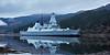 HMS Daring (D32) off Glen Mallan - 3 December 2015