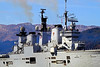 HMS Illustrious Approaching Glen Mallan - 1 March 2013
