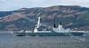 HMS Daring - off Cloch Lighthouse