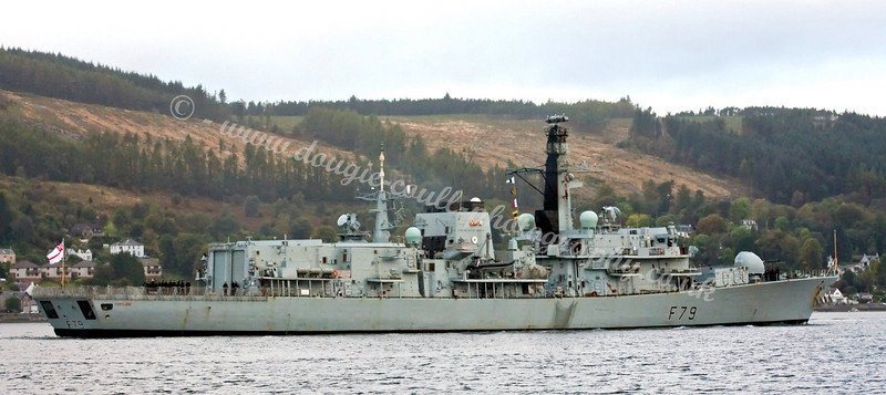 HMS Portland - Faslane Bound