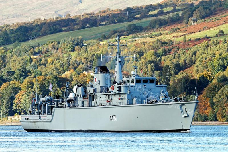 HMS Cattistock - M30 - Minesweeper
