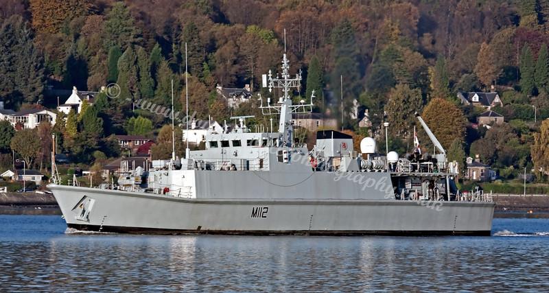 HMS Shoreham - Minehunter - M112