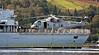 HMS Northumberland with Merlin Helo