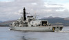 HMS Sutherland (F81) - Type 23 Frigate - Passing Greenock - 26 September 2011