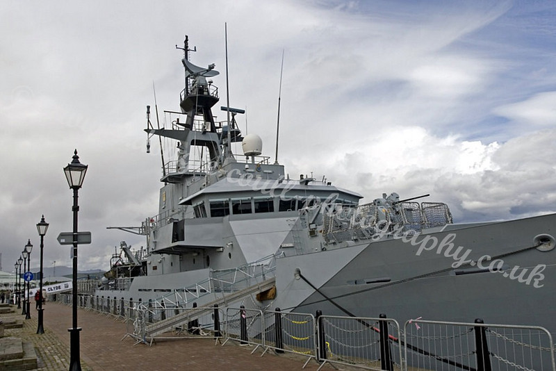 HMS Clyde - Custom House Quay, Greenock - 26 May 2007