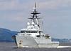 HMS Mersey - Off Port Glasgow - 25 June 2012