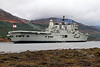 Final Visit of HMS Ark Royal to Loch Long