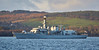 HMS St Albans (F83) off Helensburgh - 9 January 2017
