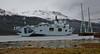HMS Ocean off the berth at Glen Mallan - 28 April 2015