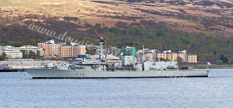 HMS Kent (F78) - Faslane