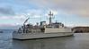 HMS Shoreham (M112) at Garvel Dry Dock - 30 January 2017