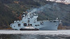 HMS Ocean Off Glen Mallan - 28 April 2015