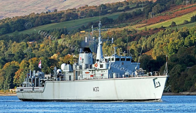 HMS Ledbury - M30 - Minesweeper