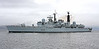 HMS Liverpool - Off East India Harbour - 27 February 2012