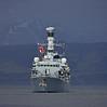 'HMS Argyll' (F231) approaching Greenock - 6 March 2015