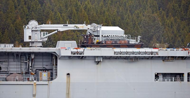 Landing Craft aboard HMS Ocean - 28 April 2015