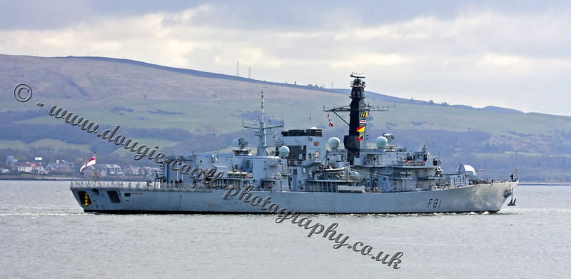 HMS Sutherland (F81) - Type 23 Frigate