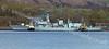 HMS Kent - bearthing with Impetus & Nimble