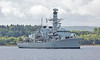 HMS Somerset (F82) off Rhu - 8 July 2016