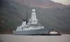 'HMS Daring' at Glen Mallan - 7 December 2015