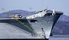 Ark Royal - Harrier on Ramp