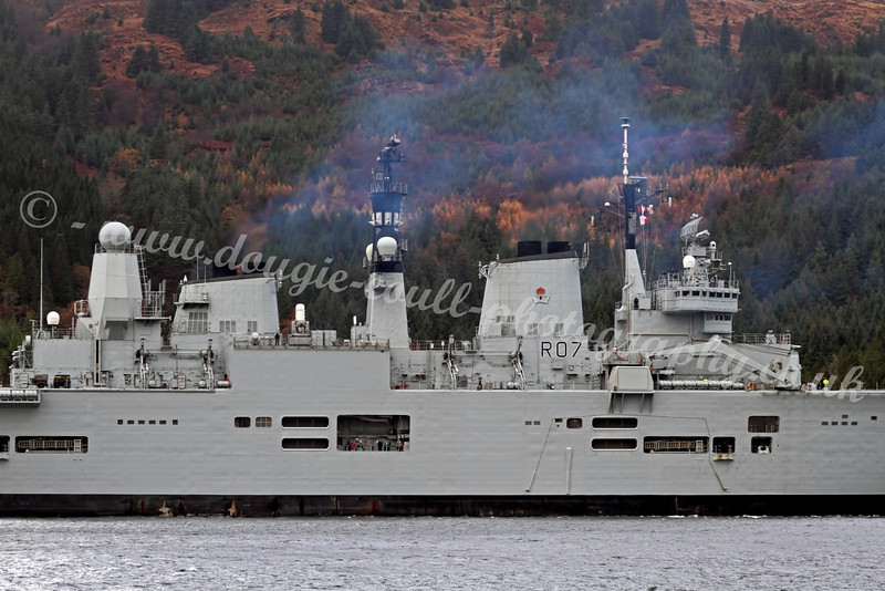 HMS Ark Royal - Loch Long