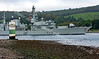HMS Portland - Passing Rhu Narrows - Faslane Bound