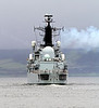 HMS Liverpool - Departs the Clyde for the Last Time - 27 February 2012