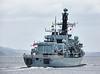 'HMS Sutherland' (F81) off Port Glasgow - 21 May 2015