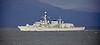 HMS St Albans (F83) off Cloch Lighthouse - 21 November 2018