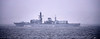 HMS Westminster (F237) at Cloch Lighthouse - 29 March 2021