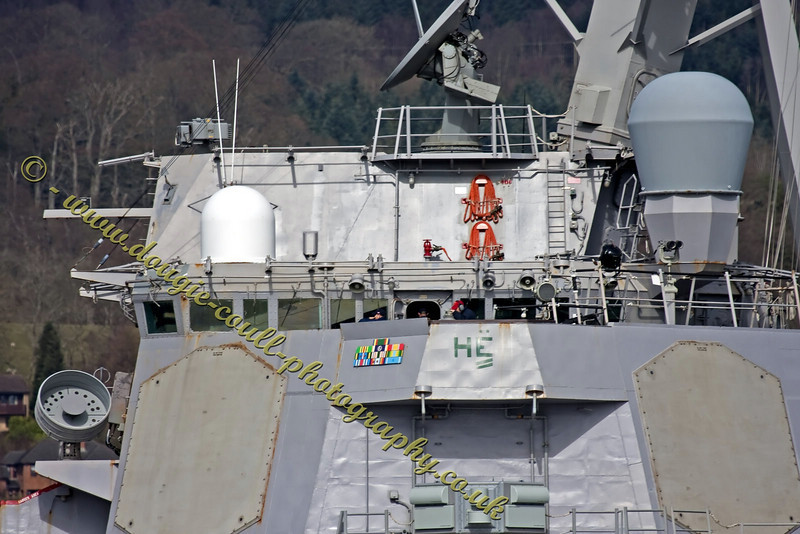 USS Barry (DDG-52) - Ship's Bridge
