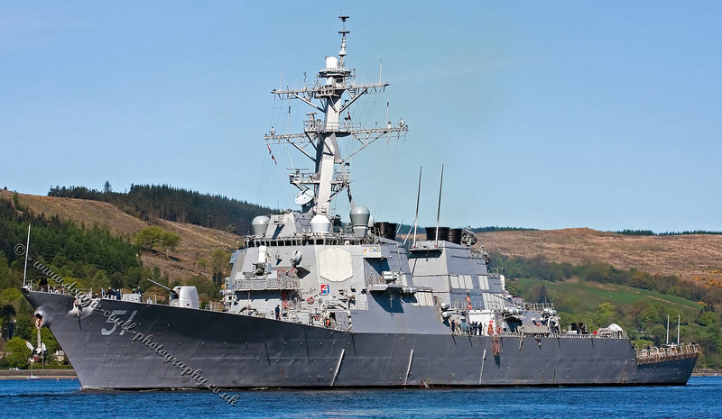 USS Arleigh Burke - DDG-51 - US Navy Guided Missile Destroyer