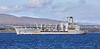 USNS Leroy Grumman (T-AO-195) at Gourock - 21 September 2018