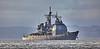 USS Vella Gulf (CG72) at Rhu Spit - 28 March 2014
