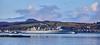 USNS Supply (T-AOE-6) approching Loch Striven Jetty - 14 April 2021