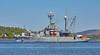 USNS Grasp (T-ARS 551) off Roseneath - 8 May 2017