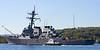 USS Arleigh Burke - Slips out of the Gareloch - SD Clyde Spirit Attending