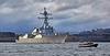 USS James E William (DDG95) at Rhu Spit - 28 March 2014
