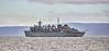 USNS Supply (T-AOE-6) off Portencross - 6 May 2021