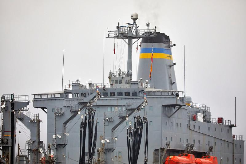USNS Big Horn (T-AO-198) at Loch Striven - 8 October 2018